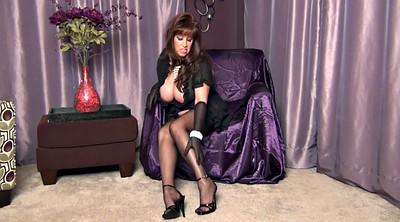 Nylon, Gloves, Dress, Milf nylon
