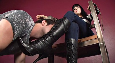 Boot, Foot worship, Femdom foot fetish