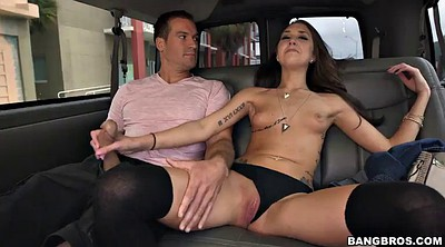 Bus, Handjob, Outdoor handjob, In bus