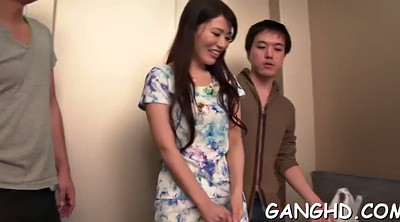 Japanese gangbang, Asian gangbang, Japanese group