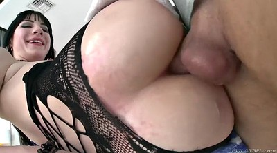 Missionary, Pantyhose fuck, Throated, Gagging, Closeup fuck