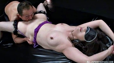 Tits, Full, Blindfold, Treatment