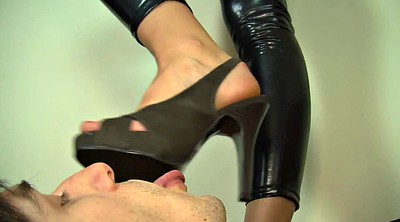 Mistress t, Latex, Worship feet