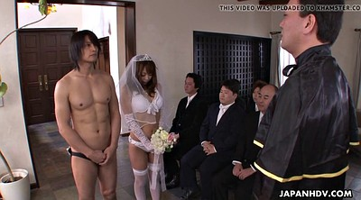 Bride, Wedding, Suck, Japanese hard