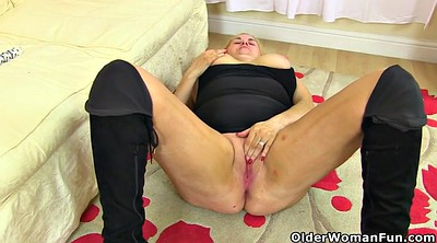 Massage, Old milf, Old pantyhose, Mature massage, Massage milf, Cumming