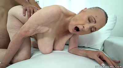 Ancient, Blindfolded, Mature fuck, Granny missionary, Blindfold