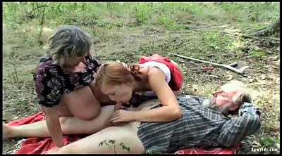 Redhead, Old couple, Teen couple, An
