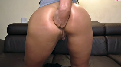 Anal fisting, Tit, Solo anal, Fist anal, Bitch