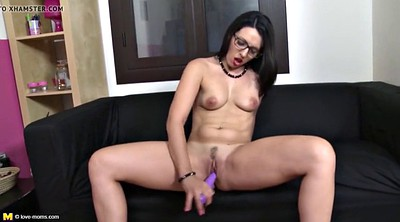 Mother, Leg, Leggings, Real mother, Mature dildo