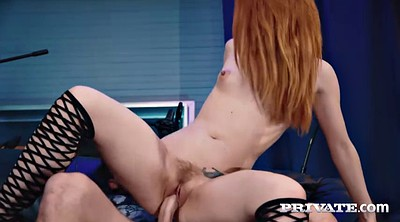 Licking pussy, Red head