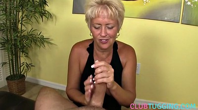 Cfnm, Tugging, Granny pov, Boobs cumshot