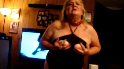 Night, Granny bbw, Tits out, Ready