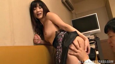 Asian, Fishnet stocking, Face fucking