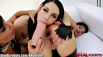 Latex, Leather, Anal toy