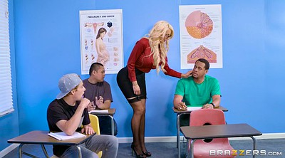 Teacher, Nicolette shea, Pupil, Classroom, Strip tease