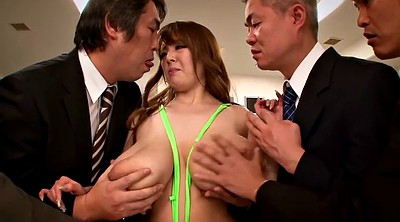 Japanese office, Japanese big tits