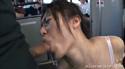 Public handjob, Bus asian