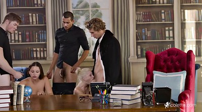 Anal cumshot, Office group, Office young