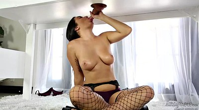 Milk, Therapy, Massage handjob, Milk tits, Fishnet, Milking tits
