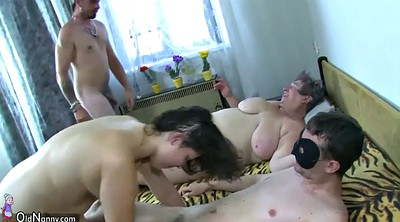 Chubby granny, Young guy, Old lady, Young bbw, Ladies, Mature group sex