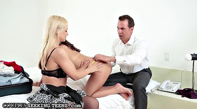 Kiss ass, Exchange, Married, Old couple