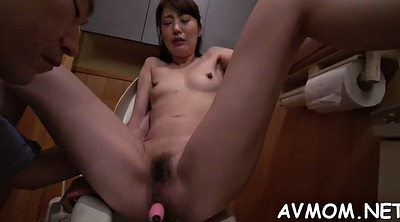 Japanese mom, Japanese blowjob, Asian mom