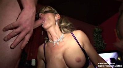 Cum in mouth, Creampie gangbang