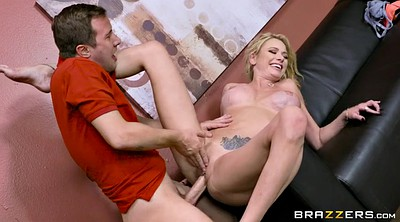 Big tit mom, Briana banks, Bank