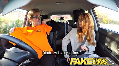 Hairy solo, Surprise, Nerdy, Fake driving school, Fake drive