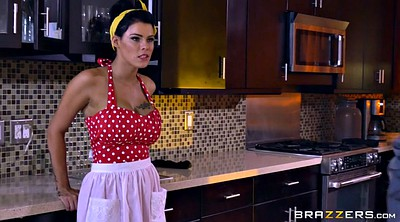 Boobs, Maid, Peta jensen, Big tits maid