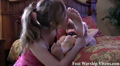 Lady, Foot worship, Worship feet
