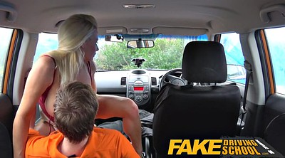 Milf creampie, Fake driving school, Fake creampie
