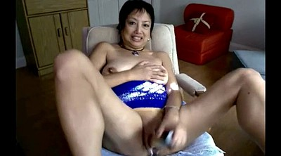 Asian mature, Asian granny, Granny webcams, Granny dildo masturbation