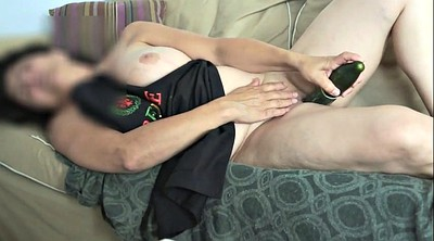 Mature orgasm, French masturbation, Cucumber, Amateur mature