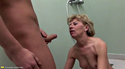 Mother son, Piss anal, Granny piss, Anal mature