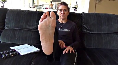 Mature foot, Mature feet, Sweaty feet