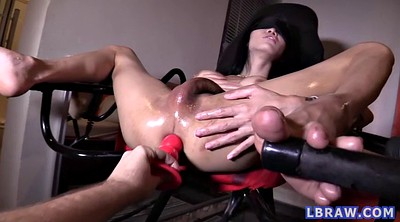 Blindfolded, Blindfold, Shemale creampie, Shemale asian