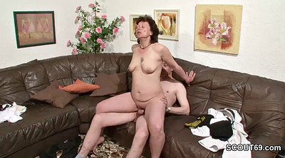 German mom, Mature casting