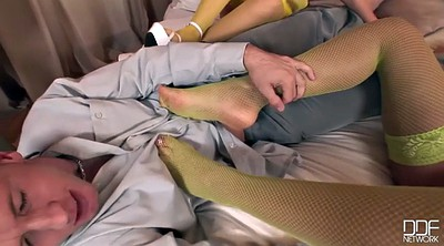 Share, Feet anal, Share cock, Threesome foot, Madison, Anal threesome