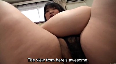 Japanese bbw, Subtitles, Fat asian