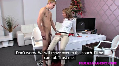Pegging, Female agent, Female, Peg, Bdsm casting, Office amateur