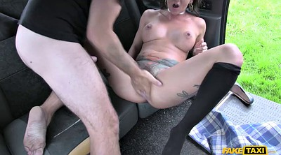 Car, Taxi, Squirt all over