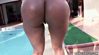 Woman, Huge ass, Colombian, Bikini ass
