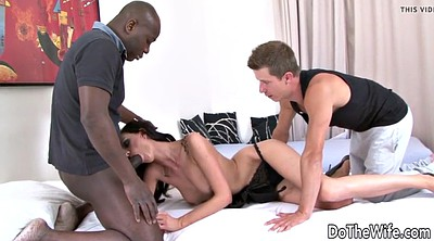 Wife bbc, Laura, Interracial kissing