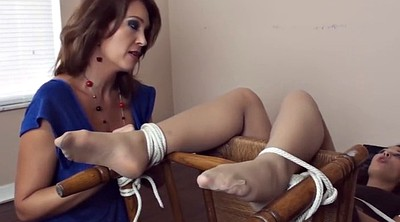 Tickling, Pantyhose foot