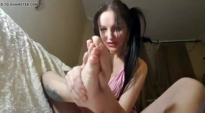 Live, Foot lick, Russian homemade, Russian feet, Feet licking