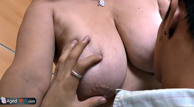 Latina granny, Mature latina, Senior, Boobs bbw