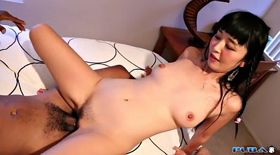 Asian man, Marica hase, Asian and black
