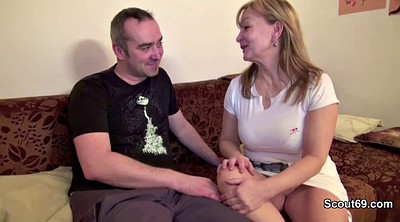 Mature, Daddy, Mature couple, Mature casting, German granny, Mom dad