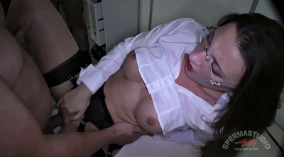 Julie, Office creampie